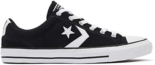 Converse Star Player Pending Suede Ox Zapatillas Moda Hombres Negro - 36 - Zapatillas Bajas Shoes
