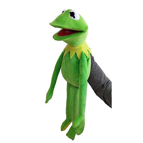 YIPUTONG Kermit The Frog Marioneta de Mano Muppets Juguetes Kermit Frog Dolls Peluche de Juguete 60cm Muppet Show Doll Niños Juguetes educativos para bebés Regalo de cumpleaños para niños