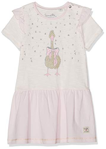 Sanetta baby-meisjes jurk Dress knitted