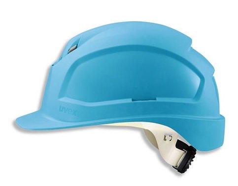 Uvex Antistatic WR Schutzhelm - Antistatischer Arbeitshelm für die Baustelle - Sky-Blue, Farbe:Hellblau