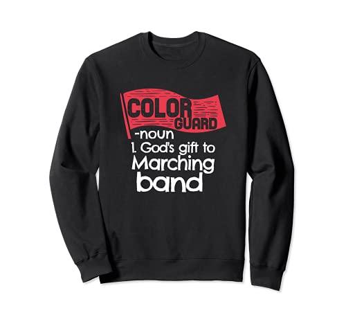 Color Guard regalo para un Colorguard Sudadera