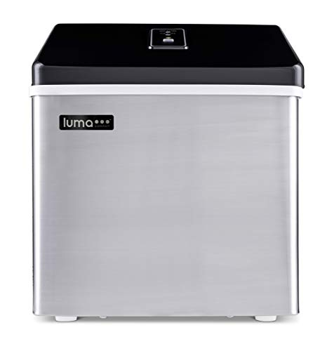 Luma Comfort Portable Clear Ice Maker 28 lb Daily, Perfect Countertop Icemaker...