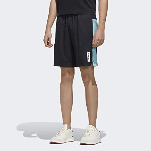 adidas Brilliant Basics Primeblue - Pantalones Cortos para Hombre, Hombre, Pantalones Cortos, GVC68, Negro/Azul Spirit, Medium