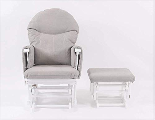 Habebe Glider Rocking Nursing Recliner Maternity Chair with...