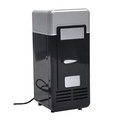 SHKUU Mini Nevera con congelador Mini Nevera portátil pequeña para Dormitorio Exterior USB Coca Cola Mini Nevera