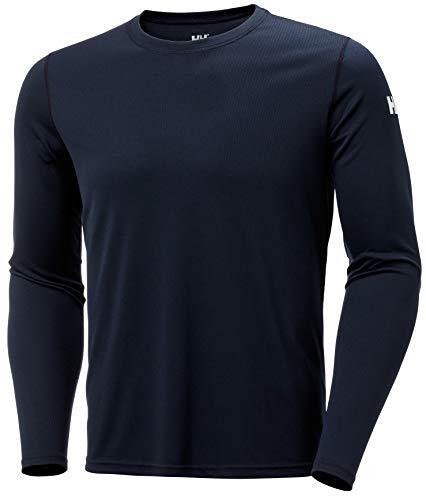 Helly Hansen HH Tech Crew T-Shirt Technique Homme, Navy, FR : L (Taille Fabricant : L)