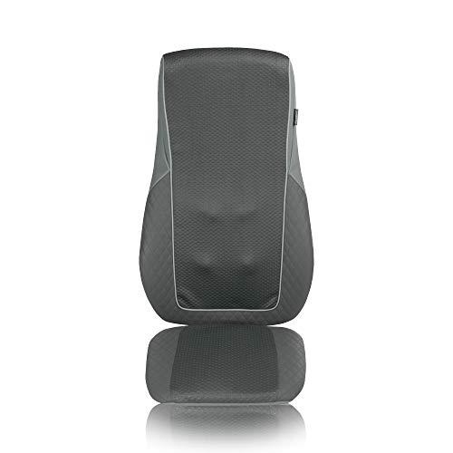 Medisana MC 824 Shiatsu Massageauflage, Massagesitzauflage mit Vibrationsmassage, Wärmefunktion, Spotmassage mit 2 Intensitäten, für jeden Stuhl geeignet, Massage für den gesamten Rücken
