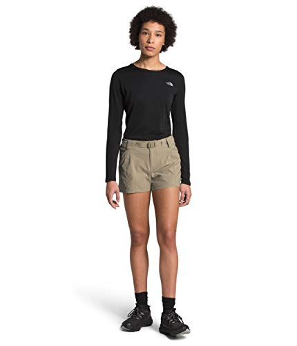 The North Face Women's Paramount Short, Twill Beige, 10, LNG