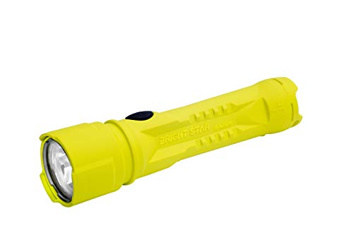 Brightstar Razor 2 LED Flashlight | Intrinsically Safe, 325 Lumens, Super Bright and Explosion Proof American-Made Flashlight for Camping, Work, Industrial Use, Emergencies, & More, Yellow (60108)