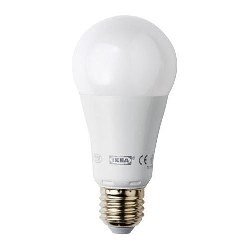 eLisa8 LEDARE - Bombilla LED E27 1000 lúmenes, regulable, globo blanco ópalo