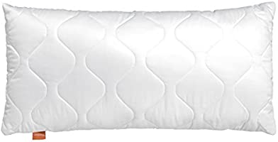 sleepling 190019-P Komfort 100 Kopfkissen Mikrofaser, weiß
