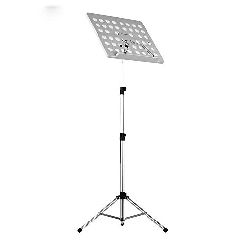 Inklapbare Bladmuziek Score Tripod Stand houder Aluminium for Orchestra Violin Piano Guitar Instrument Prestatie