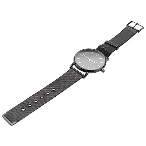 Hrsptudorc Reloj De Pulsera De Cuarzo Analogico Fecha Deporte Jercito Reloj De Hombre De Acero Inoxidable Reloj Masculino Informal Reloj De Pulsera Negro Y Oro Rosa