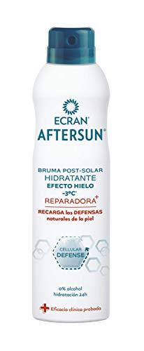 Ecran Aftersun - Bruma Post Solar Hidratante Reparadora, Efecto Hielo - 250 ml