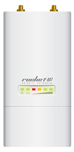 Ubiquiti Networks Rocket M2 punto accesso WLAN Supporto Power over Ethernet (PoE) Bianco 150 Mbit/s