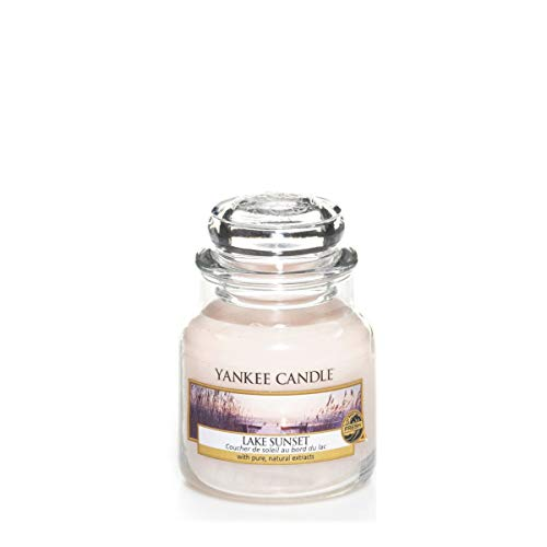 Yankee Candle Yankee candle glaskerze klein lake sunset