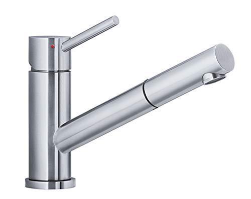 Blanco 518719 ALTURA-S Küchenarmatur Edelstahl gebürstet Hochdruck