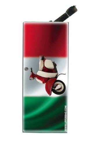 Upper Encendedor con Clip Italia Flag & Vespa