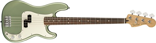 Fender エレキベース Player Precision Bass®, Pau Ferro Fingerboard, Sage Green Metallic