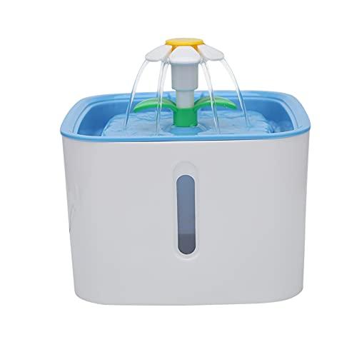 Zuoox Fuente solar para mascotas, 2,5 l, dispensador de agua para mascotas, con filtro (sin incluir)