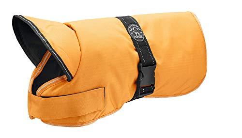 HUNTER Denali Hundemantel, Wintermantel, Fleecefutter, wasser- und windabweisend, reflektierend, 45, orange