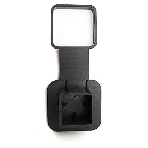 Schutzkappe Anhängerkupplung mit Halterung, MoreChioce Gummi Abdeckung Anhängerkupplung KFZ Kugelkopf für 2 Zoll Empfängerrohr kompatibel mit 2002-2013 2002-2014 1500/2500/3500