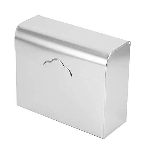 ZHTY Tenedor de Papel higiénico a Prueba de Agua Tenedor de Papel de Aluminio montado en la Pared Caja de Tejido para el hogar Titular de la servilleta Organizador Funda Completa Song