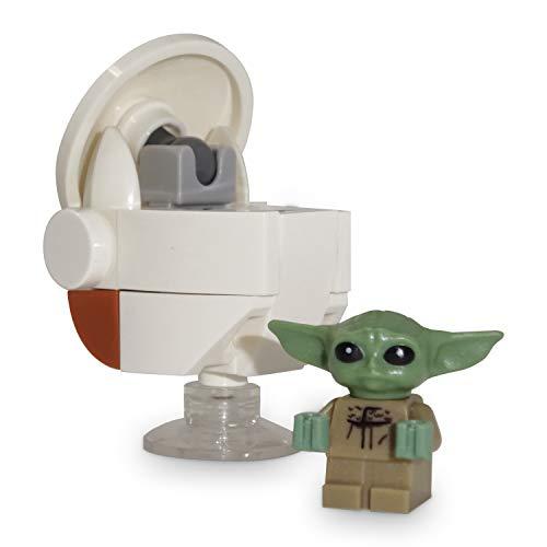LEGO Star Wars The Child - Baby Yoda LEGO Minifigur - Grogu das Kind aus Mandalorian mit Floating Pod