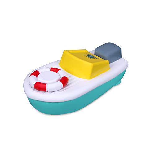 Bauer Spielwaren 16-89002 Twist & Sail Spielzeugboot mit Aufziehmotor, blau