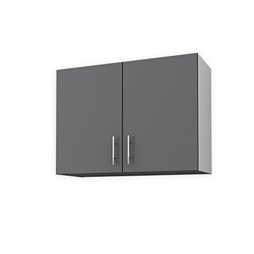OBI Meuble haut de cuisine 80 cm - Gris mat