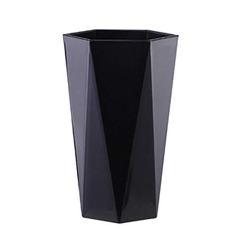 Vaso para cepillos de dientes Abcidubxc geométrico de diamante, protección del medio ambiente, de plástico, duradero, 13,2 x 8,3 cm