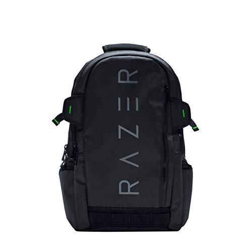 """Razer Rogue v1 15.6"""" Gaming Laptop Backpack: Tear and Water Resistant Exterior - Scratch-Proof Interior - Dedicated Laptop Compartment - Made to Fit 15 inch Laptops"""
