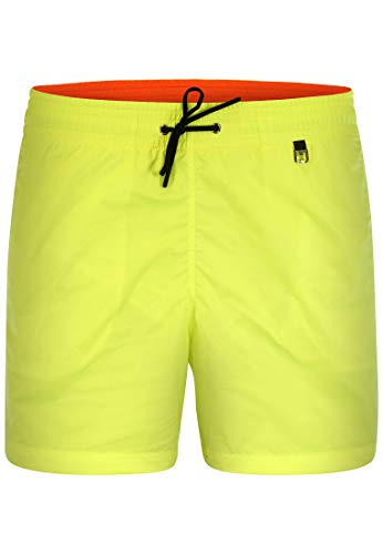 HOM - Herren - Beach Boxer \'Sunlight\' - Angesagter Schwimmshort in Trendfarben - Yellow - 2XL