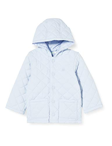 United Colors of Benetton Unisex Baby Giubbotto Sportjacke, Türkis (Heather 081), 68