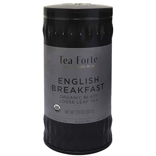 TEA FORTE' ENGLISH BREAKFAST 100 GRAMMI LATTA SFUSO ORGANIC BIO