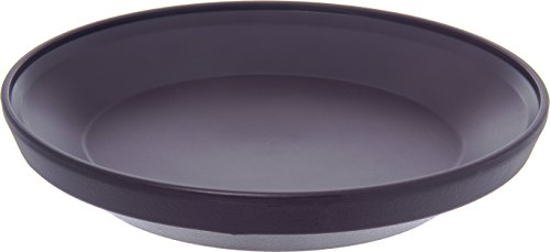 """Dinex DX107768 Urethane Foam Insulated Base, 9-1/2"""" Diameter x 1-7/8"""" Height, for Insulated Domes, 9.5"""" Length, 9.5"""" Width, 10"""" Height, Plum (Pack of12)"""