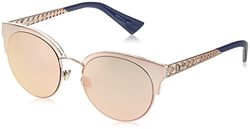 Dior DIORAMAMINI 0J S8R Gafas de sol, Rosa (Light Pink/Grey Rose Gd Grey Speckled), 54 para Mujer