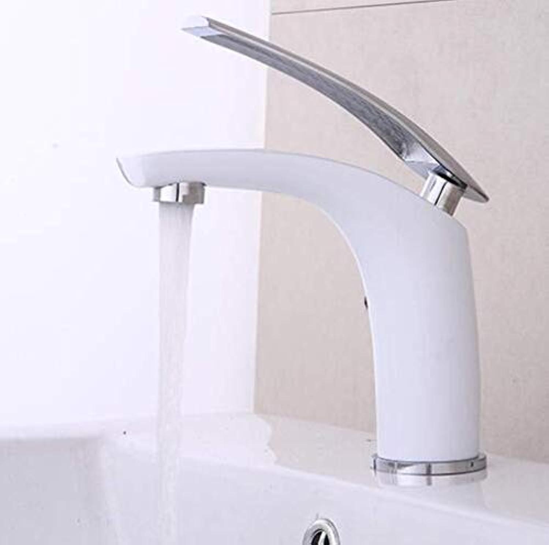 ZHUAPP Bad Wasserhahn Vollkupfer Lackiert Waschbecken Wasserhahn Heies Und Kaltes Wasser Waschbecken Wasserhahn Unter Aufsatzbecken Wasserhahn