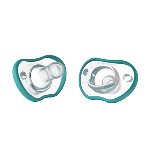 nanobébé - Flexy Schnuller 2er Pack - 3m+ - türkis