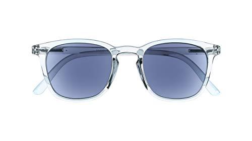 Silac - Sol Cristal 7551 - Gafas de Sol y de Lectura Unisex - Para Mujeres y Hombres - Lentes de Sol y de Cerca - Ligeras y Resistentes - Dioptrías +2.00 - Transparentes