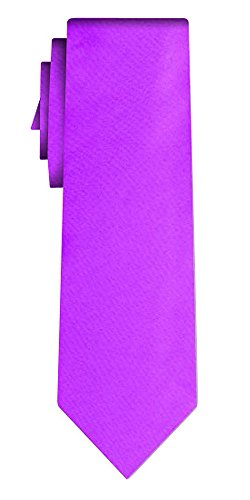 Cravate unie solid powerful lilac VII