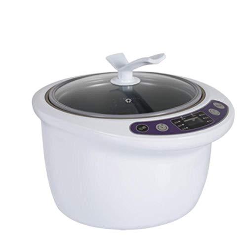 Macchina Natto 6L Fermentatore Per Aglio Nero Di Grande Capacità Casa Smart Box Per Fermentazione Automatica Macchina Controllo Intelligente Natto Wine Yogurt Maker Bianco