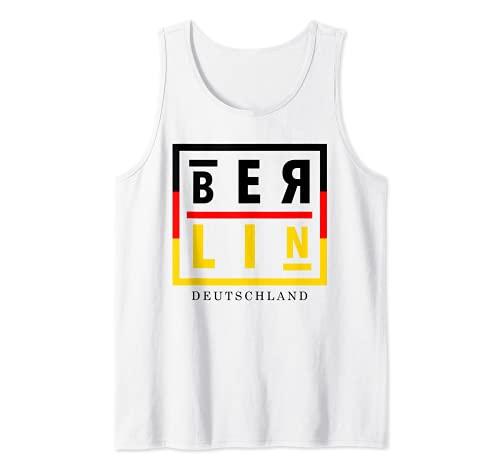 I Love Berlin, Cool Berlin Deutschland Graphic Tees, Berlin Tank Top