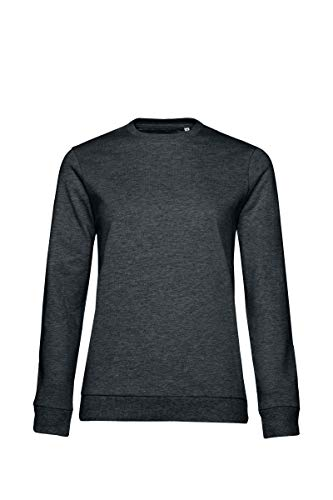 B&C Collection Damen #Set Sweatshirt WW02W Gr. M, Heather Asphalt