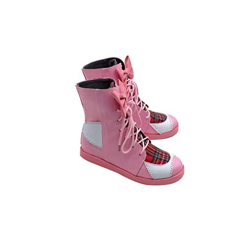 DUNHAO COS Anime Vocaloid Hatsune Miku Project Diva Cosplay Custom Made Shoes Boots Male US 10/EU45