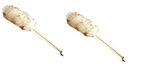 Norpro 24-Inch Pure Lambs Wool Duster with Wood Handle (2, 24-Inch)