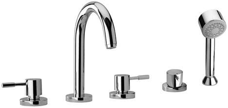 J16 Las Vegas Mall Bath Series Two Lever Handle Faucet Max 88% OFF and Hand Tub Showe Roman
