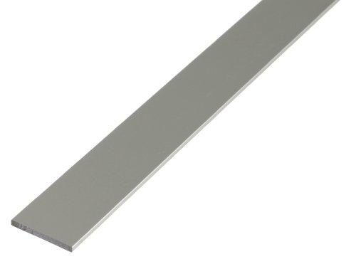 GAH-Alberts 473044 Flachstange, silberfarbig eloxiert, 1000 x 30 x 2 mm