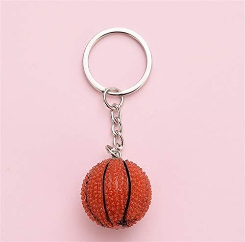 Schlüsselbund Neue Art und Weise Sport Keychain Auto-Schlüsselanhänger Basketball-Anhänger for Lieblingssportler Geschenk (Color : 7)