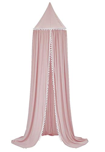 SWHRIOPD Princess Dome Bed Canopy Cotton Hanging House Decoration for Children